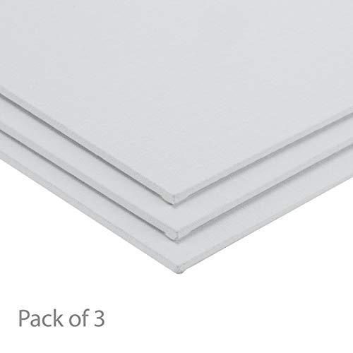 """Centurion All-Media Primed Linen Panels 3-Pack 18x24"""""""
