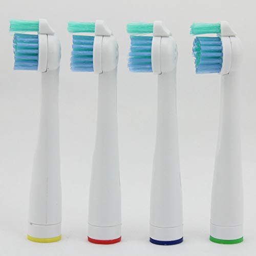 4 cabezales de repuesto para cepillo de dientes eléctrico Philips Sonicare Sensiflex HX2014 / HX1600 / HX2012 (4)