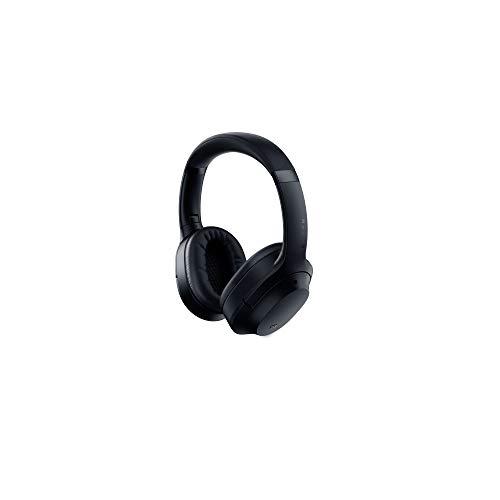 Razer Opus Cuffie Cireless con Certificazione THX e Cancellazione Attiva del Rumore, Wireless Headset, Bluetooth, Batteria fino a 40 ore, Microfoni, Modalità Ambiente, Nero