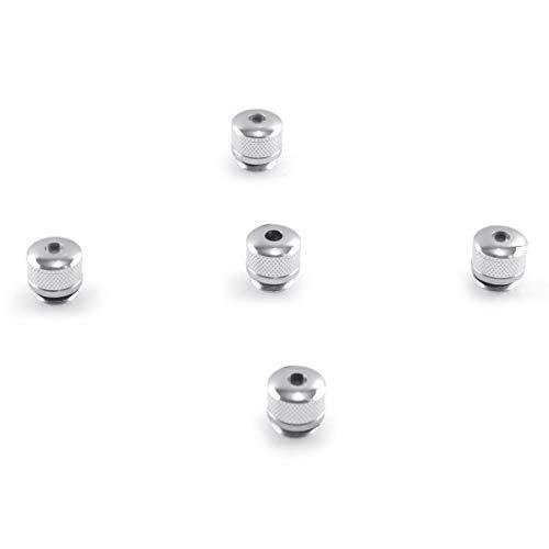 FreeMascot 5 Pcs Sky Patterns Heads Cap for Laser Pointer Light (Silver)