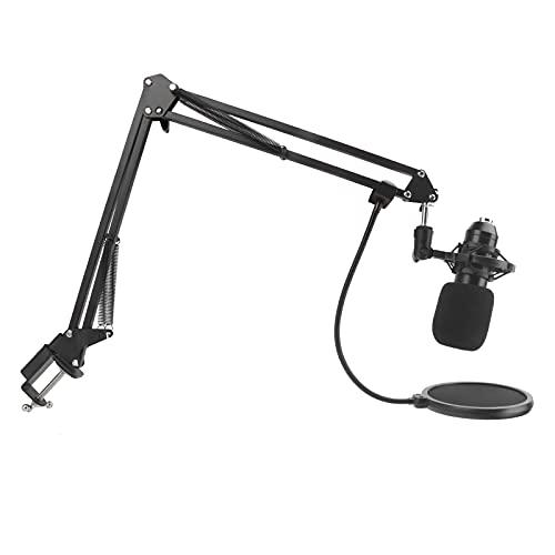 Hängender Ständer Mikrofon, Kondensatormikrofone Halter Hängendes Mikrofon Flexible Mikrofone Arm Mikrofon Clip Studio Aufnahmegerät Bequem für Singen