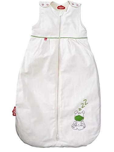 4 Jahreszeiten Bio Kinderschlafsack 110 cm (24-48 M & 2 weitere Größen) in vielen süßen Designs - Atmungsaktiver Schlafsack für einen erholsamen Schlaf mit Zizzz