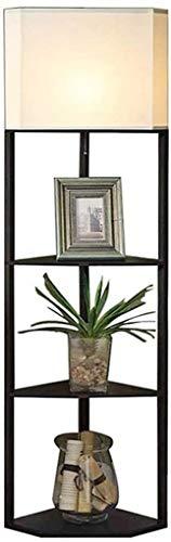 XXLYY Vloerlamp Zwart Hoekplank Salontafel Chinese Woonkamer Vloerlamp, slaapkamer Bedlampje Creatieve Sofa Lamp 158 * 35.5 * 35.5 cm Woondecoratie Decoratie licht