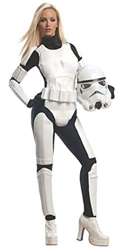 Rubie's Star Wars Female Stormtrooper, White/Black, Small