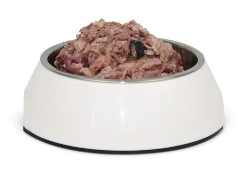 Barfpaket Lachs, 10 kg, artgerechtes Tiefkühlfutter, natürliche Ernährung mit Barf, gefrorenes Hundefutter zum Barfen