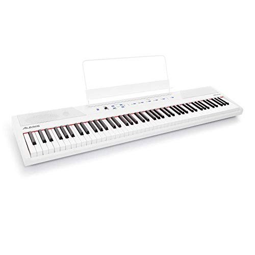 Alesis Recital White - Teclado de piano digital de...