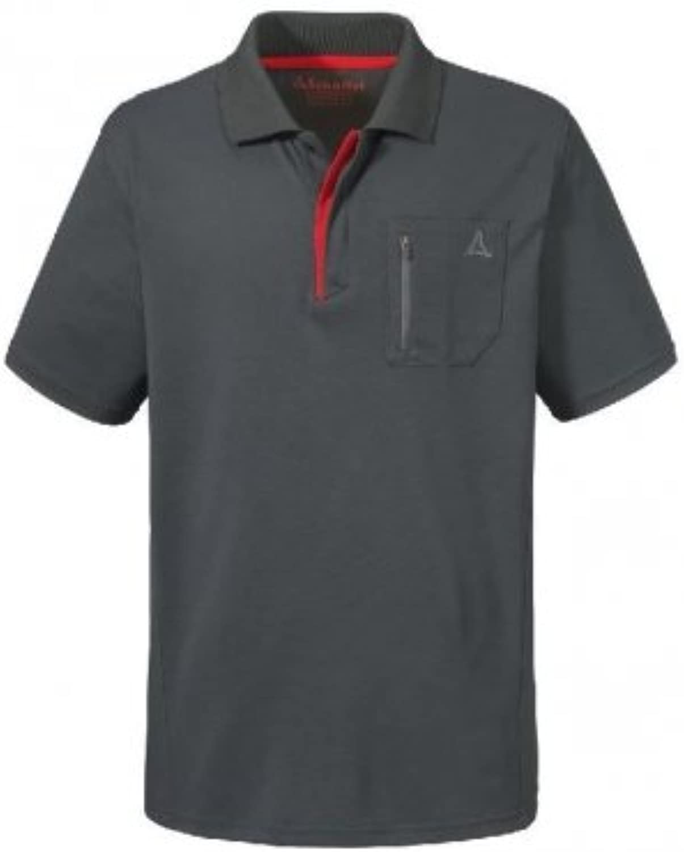 Schöffel Polo Polo Polo Shirt Arizona1 grau B079NWDKZZ  Qualitätskönigin af8815