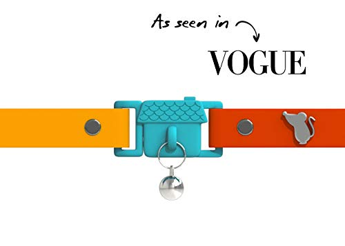 Visto en Vogue. Collar para Gato Copacabana de Kittyrama. Galardonado 'Cat Friendly'