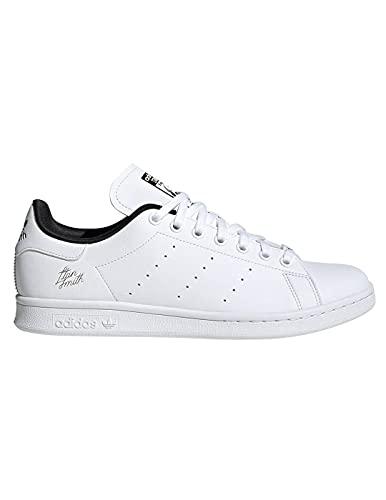 adidas Stan Smith, Zapatillas de Running, FTWR White Core Black-Reloj de Pulsera para Hombre, 42 2/3 EU