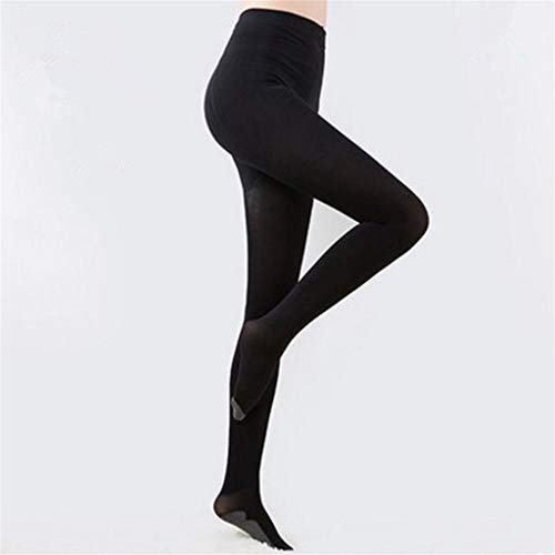 JUMERY-Thigh High Stockings for Ladies, Women's Breathable Classic Compression Pantyhose 20-30 mmHg Firm Pressure Medical Quality Ladies Waist High Sheer Support Stockings - Best Circulation Panty Hos