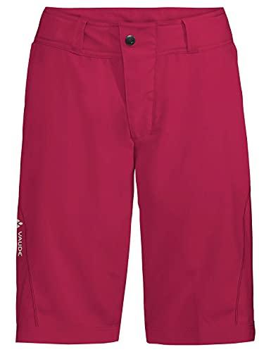 VAUDE Damen Hose Women's Ledro Shorts, crimson red, 42, 41434
