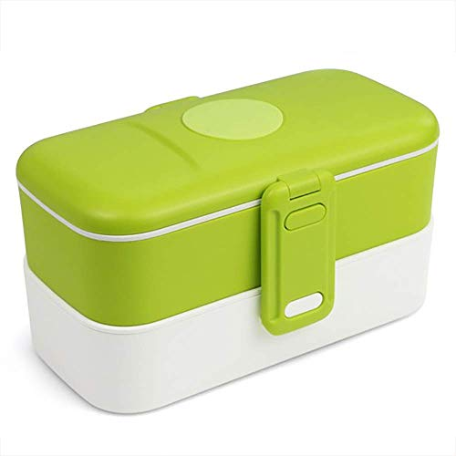 Bento Lunch Box for Kids - Bento Boxes for Adults Meal Prep - Leakproof Bento Snack Box Microwave Safe - Insulated Lunch Box Set with Cutlery - Traditional Japanese Bento Box