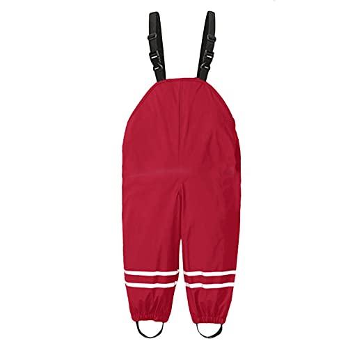 Dungarees de lluvia unisex de color sólido, mono de una pieza, ropa y pantalones de barro