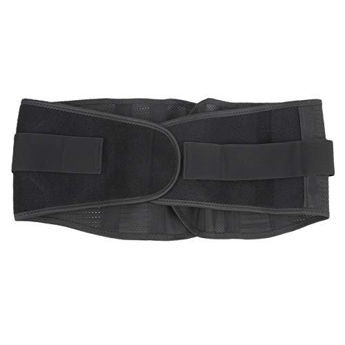 Malla Cómodo Cinturón para la Espalda Soporte para cinturón Protector de Cintura Ejercicio Soporte de Cintura Fieltro para vértebras lumbares
