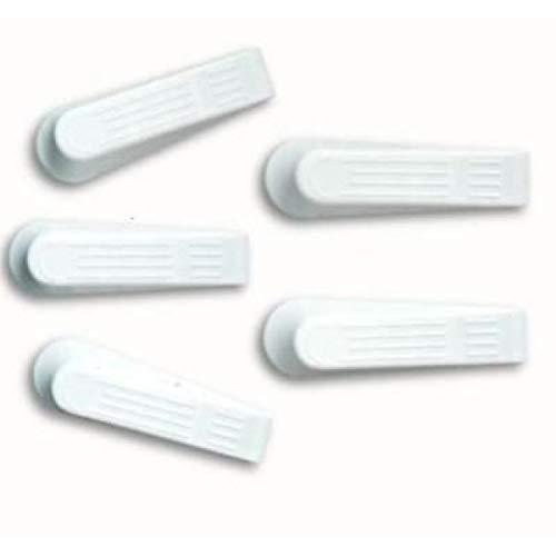 1a-becker 5er Set Türstopper Türkeile Fenster Stopper Feststeller Fensterkeile weiß