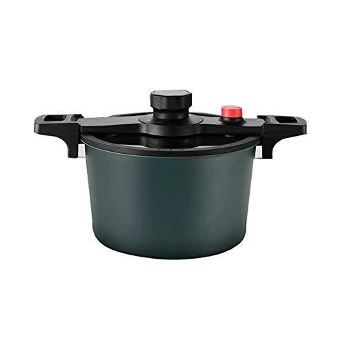 JT-Cookware Micro Autocuiseur, Pot à Soupe Autocuiseur à Basse Pression Multifonctionnel Poêle Antiadhésif Antidéflagrant Autocuiseur(Color:B,Size:6L)