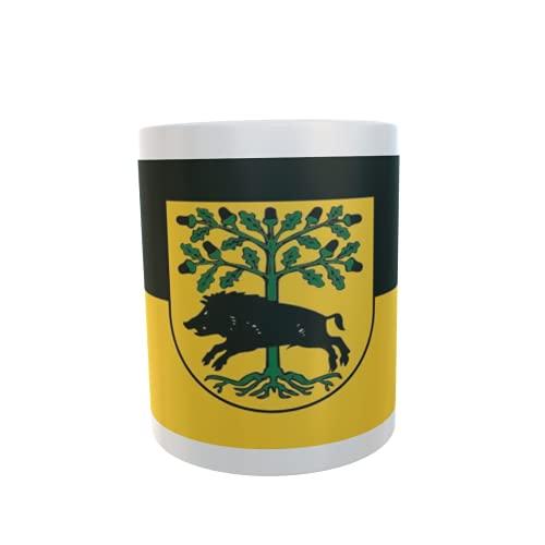 U24 Tasse Kaffeebecher Mug Cup Flagge Gardelegen OT Roxförde