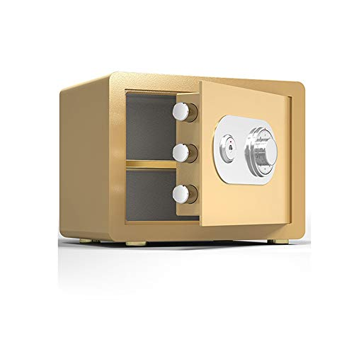 Small Safe Box - Mechanical password box Steel Electronic Safe Deposit Box with Lock Keypad for Money Jewelry Security Cabinet for Home Business or Travel (Size : Big)