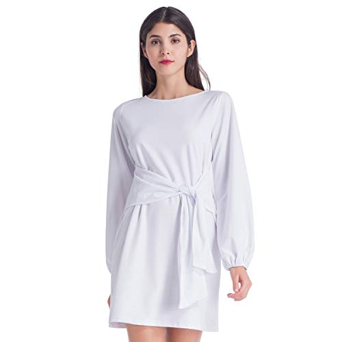 Brovollous Women's Mini Dress Long Sleeves $8.80 (60% Off with code)