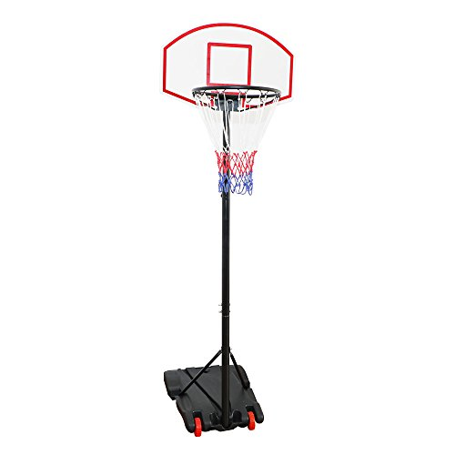 Display4top Regolabile 179-209 cm, canestro da Basket Net System su Ruote