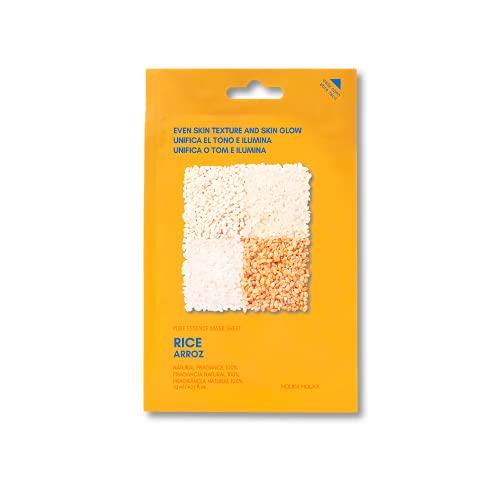 Holika Holika Pure Essence Facial Sheet Mask, Rice, 20 ml