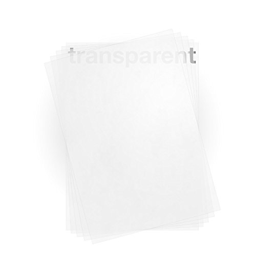 100 Sheets Translucent vellum paper A4 100 gsm for Laser & Inkjet Printers by Zanders T2000