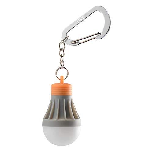 Ultimate Survival Technologies Tent Bulb LED 0.5 Orange/Gray Keychain Light