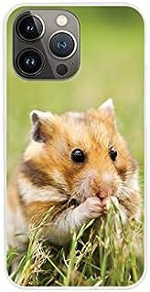 Etui na Apple iPhone 13 Pro Max - etui na telefon Foto Case - chomik w trawie - guma case obudowa silikonowa wzory