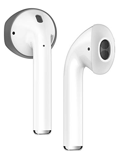 AirPods イヤーピース つけたまま 充電可能 収納可能 イヤホン 落下防止 アクセサリー 極薄 シリコン 使用 イヤホンカバー 左右セット × 2カラー elago Secure Fit [ Apple Air Pods mmef2j/a エアーポッ