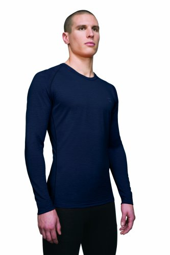Icebreaker Atlas T-Shirt à Manches Longues pour Homme Encre Taille XL