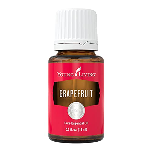 Young Living Grapefruit Essential Oil - Sweet and Citrusy Aroma - 15...