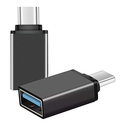INVID USB A auf USB C Adapter mit 2 Stuck USB C USB 31 Typ C Buchse auf USB SteckerLadekabel Adapter fur MacBook Pro 2018 Chromebook PixelbookLG V20Samsung Galaxy S9Google Pixels 2Nexus 5