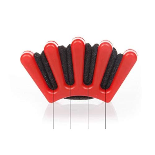 Plastique Bricolage Cheveux Éponge Styling Cheveux Tressage Tressage Twist Machine Weave Tresses Cheveux Tresser Hairdo Outils Coiffants 2Pcs