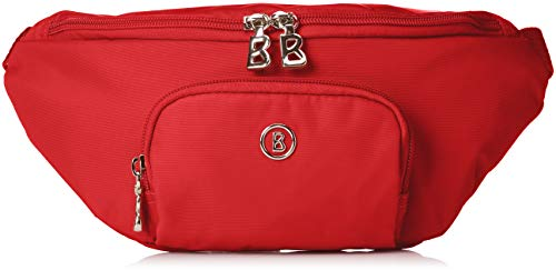 Bogner Damen Verbier Janica Hipbag Shz Umhängetasche, Rot (Red), 5x12x29 cm