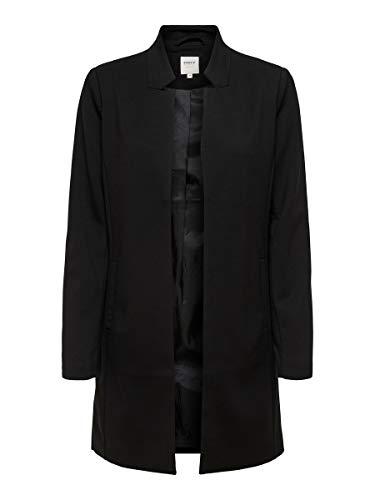 ONLY Damen Coatigan POPTRASH Black, Größe:S, Farbe:177911 Black