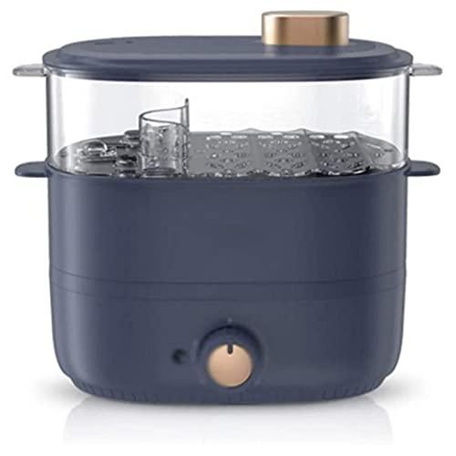 HHTD Hogar Steamer Multifuncional Casa Doble Capa de Doble Capacidad PEQUEÑO TAMAÑO PEQUEÑO Huevo EQUANDO Cocina DE Cocina