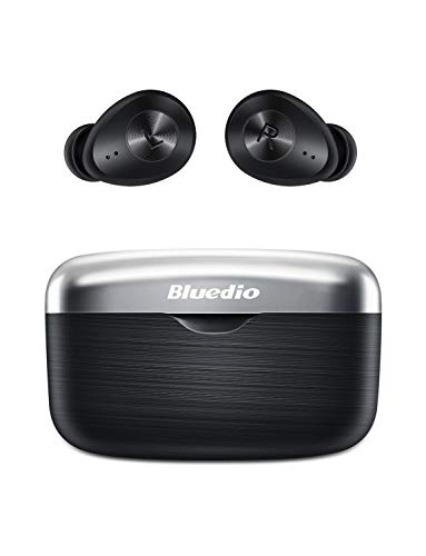 Bluetooth Kopfhörer, Bluedio Fi(Faith) Kabellose Kopfhörer in Ear Bluetooth 5.0 Headsets mit AptX Stereo Sound, HD Deep Bass, CVC 8.0 Noise Cancelling,Touch-Control, Bluetooth Ohrhörer für iOS Android