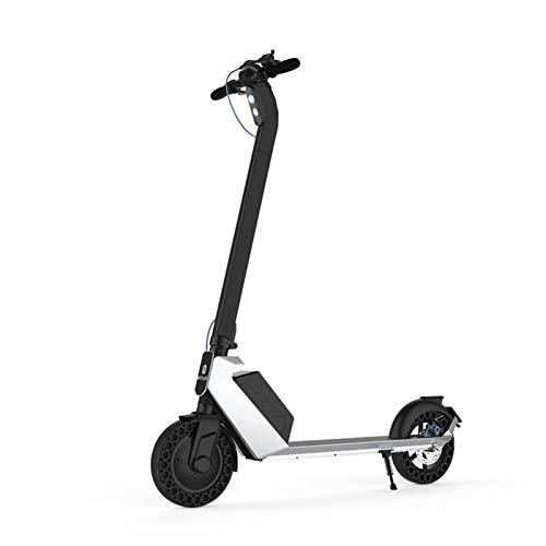 LINGZE Scooter Big Two Wheel Commuter con Potente batería y Motor, Ligero y Plegable para Adultos y Adolescentes