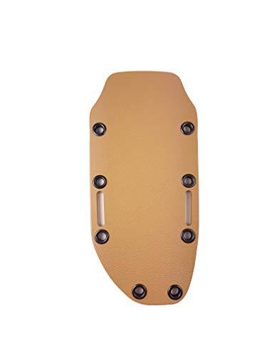 Bio Mordiscos Vorgefertigte Messer-Hülle aus Kydex/termoplastischem Material (Mittelgroß) (Braun)
