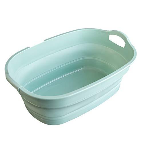 洗い桶 バケツ 折りたたみ シリコン たらい 30L おしゃれ キャンプ 洗濯 排水口@83566