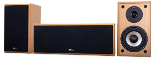 DK digital LS 180-1 2-Wege Lautsprecher Set buche