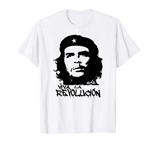 maglia che guevara Che Guevara Viva La Revolucion Revolution Maglietta