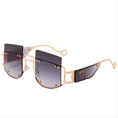 ODNJEMSD Gafas De Sol Nueva Personalidad Tendencia Hombres Y Mujeres con Las Mismas Gafas De Sol