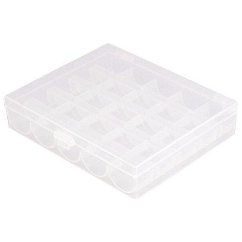 KINGSO Boîte De Rangement Pour Canettes Machine A Coudre Rangement Plastique Bobine Bobbin Box