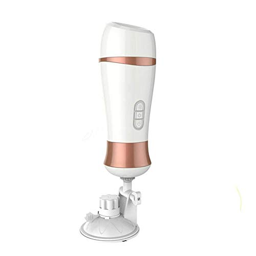 Love Ji Copa de M-asturbación Masculina - Masajeador Eléctrico Calentamiento Inteligente de los Hombres/Ligue coqueteando Voz Copa de Avión Sexo Masculino Equipo Simulador de Mamadas V-agina Real