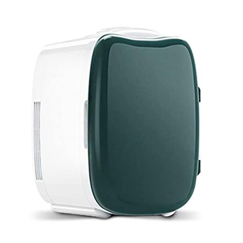 Mini Frigo Mini Frigorifero Domestico, Raffreddatore E Riscaldatore di Bellezza da 6 Litri, Frigorifero Compatto con Ripiano Mobile (Color : 220V)