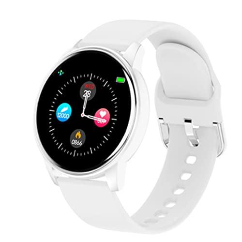 LOVOUO Reloj Inteligente Deportivo con Pantalla táctil a Color de 1,3 (rastreador de Ejercicios a Prueba de Agua IP67 con podómetro de monitorización del sueño del Ritmo cardíaco)