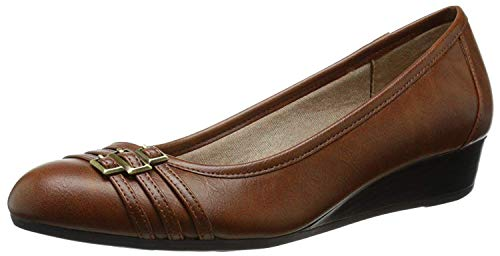 LifeStride Women's Farrow, Tan, 6 W US