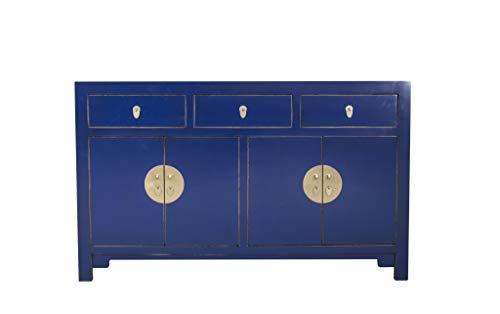 Fine Asianliving Chinesisches Kommode chinesisches Sideboard chinesischer Schrank chinesische Möbel Schlafzimmer Orientalischer Asiatischer 140x85x35