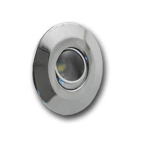 Mini foco LED empotrable 120° 1W - 350mA 3000K - LAMPO SNC TC01TR/BC